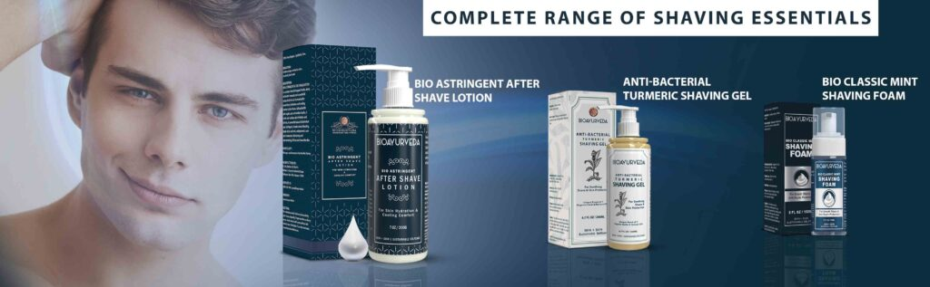 Range of Shaving Essentials
