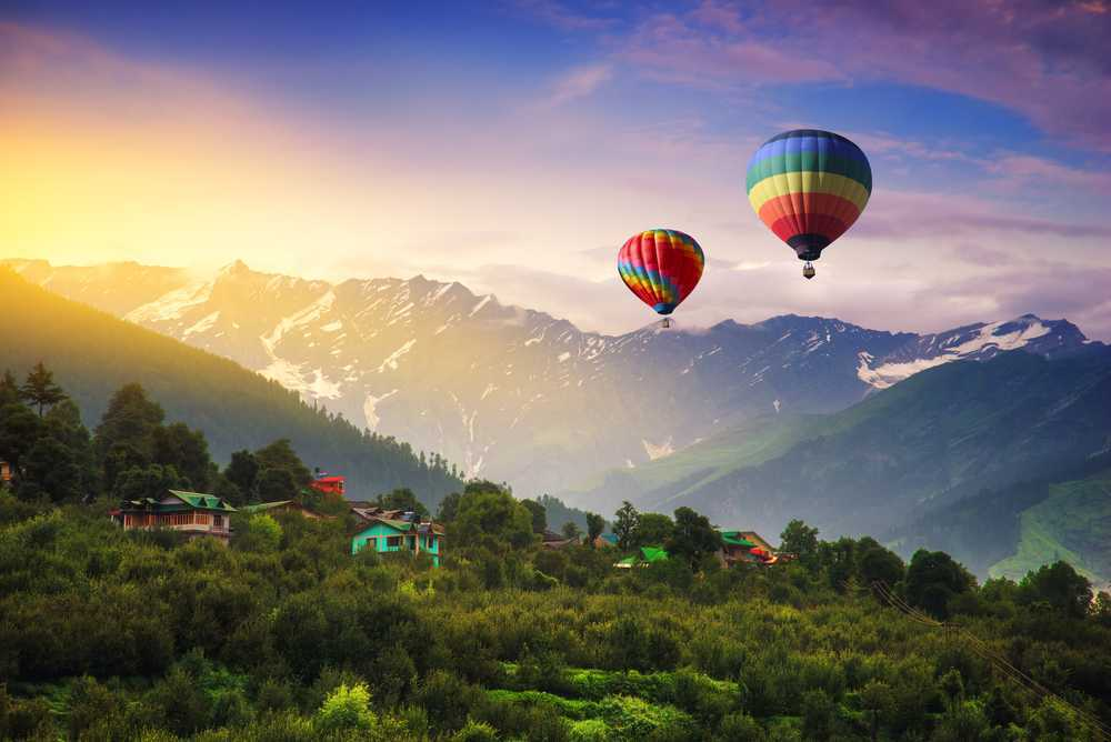 About Camping in Manali