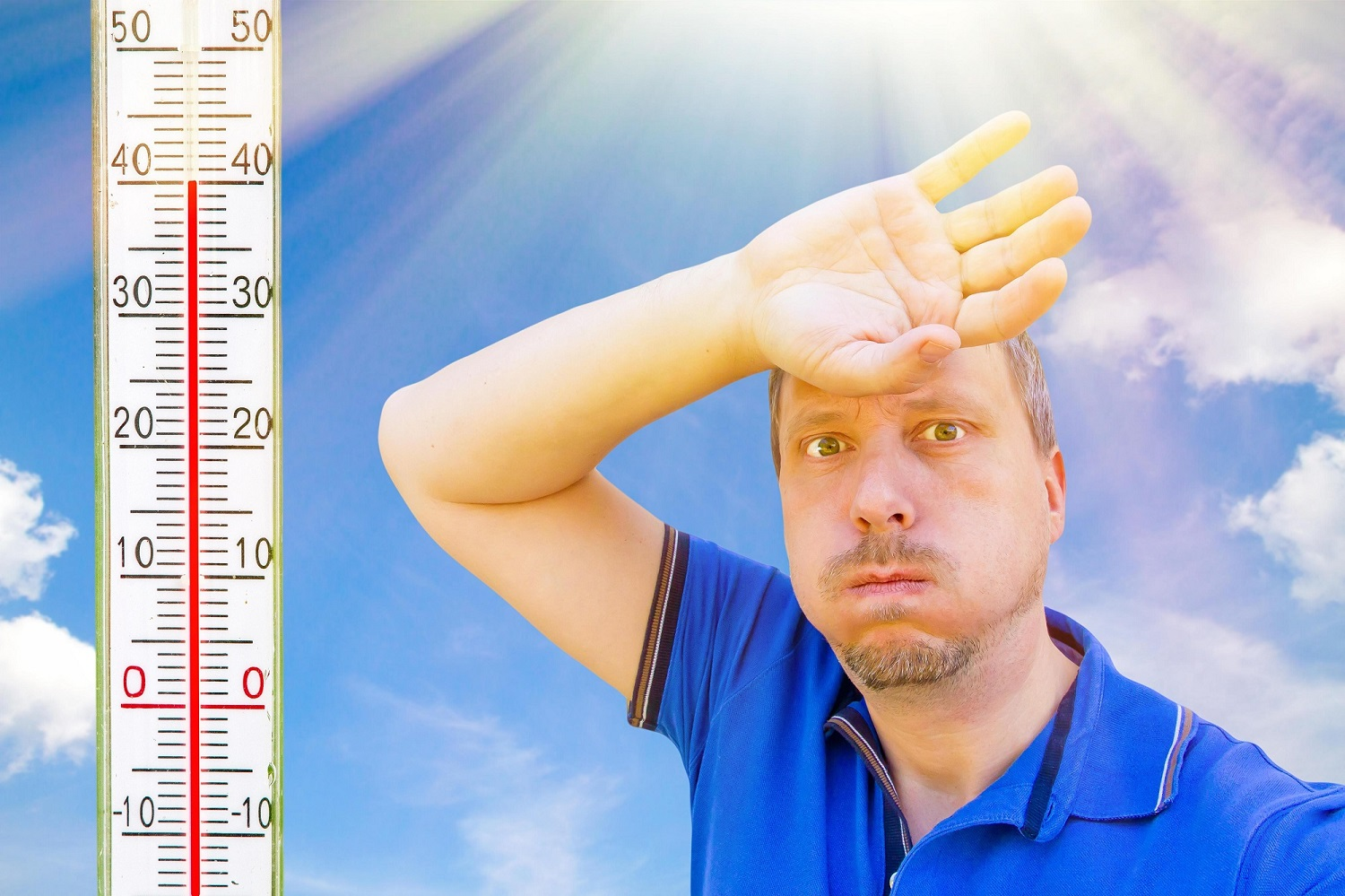 How a Sports Person Can Stay Healthy Against a Heat Stroke