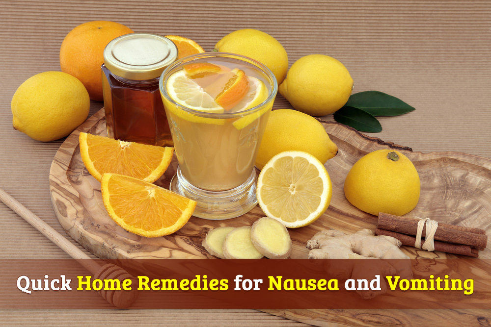 Quick Home Remedies for Nausea and Vomiting