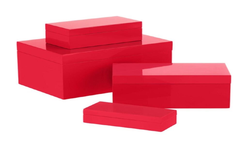 Color Rigid Boxes